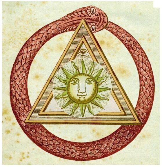 Une bonne crise en guise d'introduction à un Nouvel Ordre Mondial Symbole-maconnique-serpent-delta-oeil