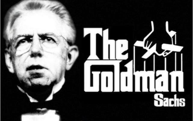 mario monti goldman sach